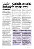 NSS Bulletin 52 Autumn 12 - National Secular Society - Page 6