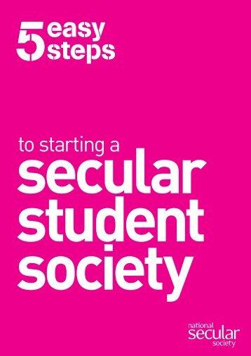 easy steps - National Secular Society