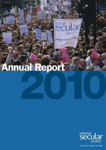 2010 Annual Report - National Secular Society