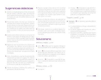 Parte 8 - Guías didácticas para el profesor. Editorial Nuevo México