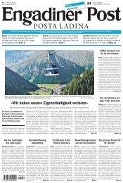 Engadiner Post Nr. 084 vom 19. Juli 2012