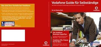 Vodafone Guide für Selbständige
