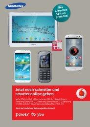 Jetzt noch schneller und smarter online gehen. - Vodafone