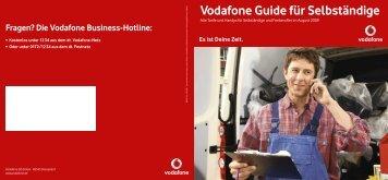Vorteil - Vodafone
