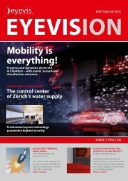 Mobility is everything! - eyevis.it - PERFECT VISUAL SOLUTION