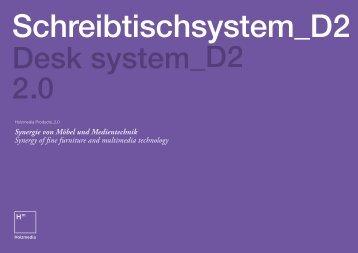 D2 Product brochure (PDF) - Holzmedia.de