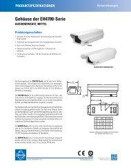 Gehäuse der EH4700-Serie - ViSiTec Video-Sicherheit-Technik GmbH