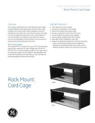 Rack Mount Card Cage
