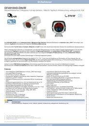 DF4910HD-DN/IR - Videor