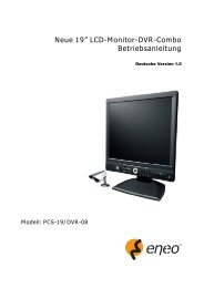 "Neue 19"" LCD-Monitor-DVR-Combo Betriebsanleitung"