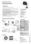 IR LED-Scheinwerfer, MFL-I/LED5-12 - Belcom - Page 2