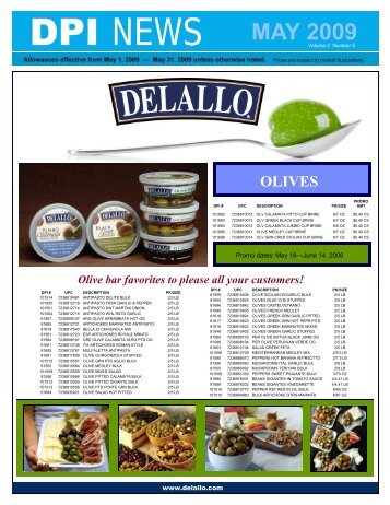 Dpi Specialty Foods March