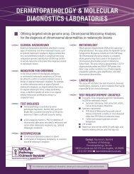 Array comparative genomic hybridization (aCGH) - the UCLA ...