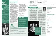 Newsletter from the A-T Medical Research Foundation Summer 2001