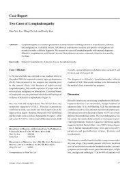 Case Report - The Hong Kong Society of Rheumatology