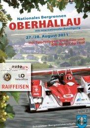 Nufarep GmbH - Bergrennen Oberhallau