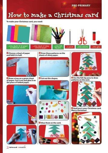 How to make a Christmas card - Richmond