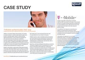 Case Study T-Mobile UK - SecurEnvoy