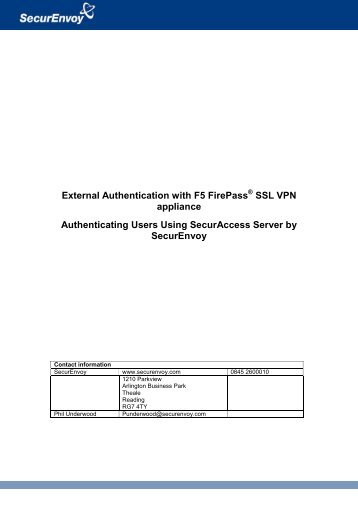 F5 vpn two factor authentication