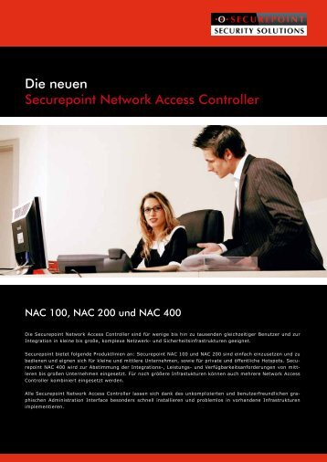 NAC Appliances-Übersicht - Securepoint