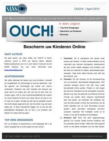 Bescherm uw Kinderen Online - Securing The Human