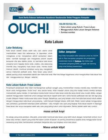 Kata Laluan - Securing the Human