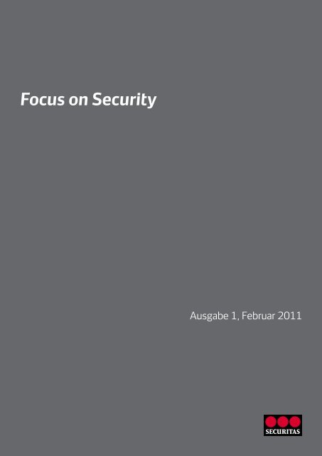 Focus on Security 1-2011 - Securitas