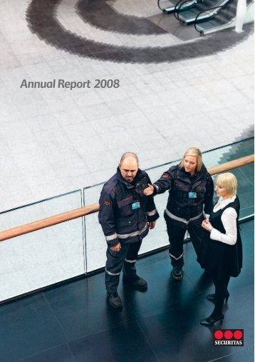 Annual Report 2008 - Securitas