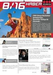 FIBA Dünya Basketbol Şampiyonası, Securitas Türkiye ile Güvende…