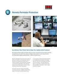 Remote Perimeter Protection - Securitas
