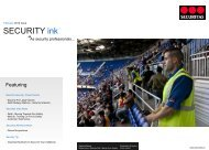 "SECURITY ink "" - Securitas"