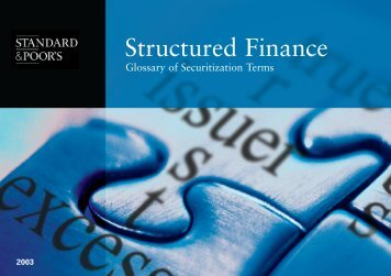 Structured Finance - Securitization.Net