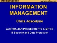 Information Management - Security Assessment