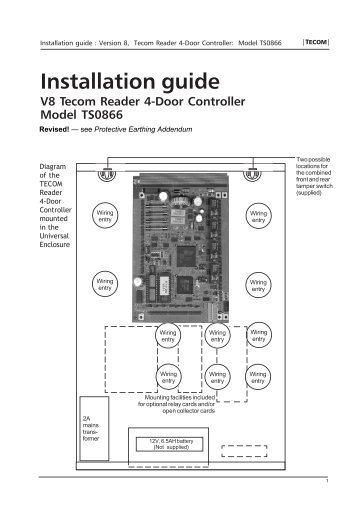 ts0866 v8 tecom reader 4 door controller installation guide?quality=85 lan connection \u2022 the rs tecom challenger wiring diagram at et-consult.org