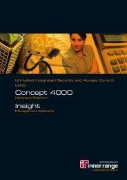 Concept 4000 Insight - Securityhelpdesk.com.au