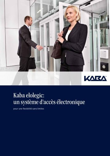 Kaba elolegic: un système d'accès électronique