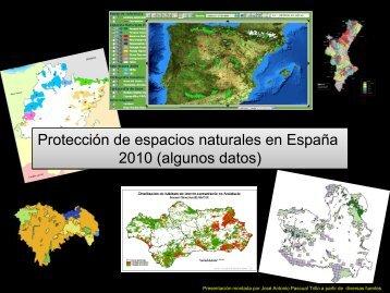 Algunos datos sobre espacios protegidos en España (2010)-pdf