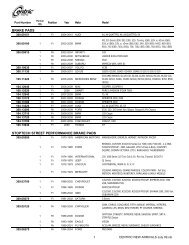 StopTech 102.12670 Brake Pad Metallic