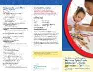 Autism Spectrum Disorder Center - Kaleida Health