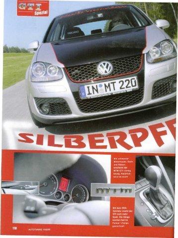 AUTOTUNING 10/2005 Mit schwarzer Motorhaube, Dach und ... - MTM