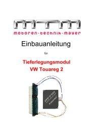 Einbauanleitung - MTM