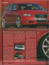 AUTOTUNING (1/2012) A3 Sportback Tuning Test - MTM