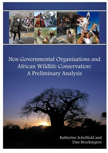 Non Governmental Organisations and African Wildlife Conservation ...