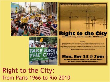 Right to the City