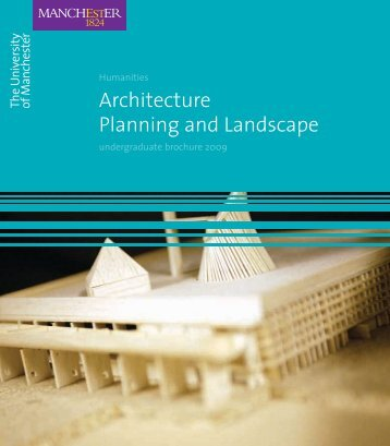 Architecture Planning and Landscape - School of Environment and ...