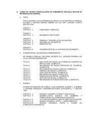 A. CURSO DE TÉCNICO ESPECIALIZADO EN ARMAMENTO ...