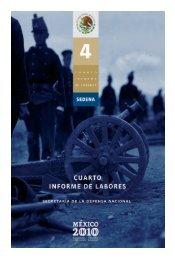 Cuarto Informe. - Secretaría de la Defensa Nacional