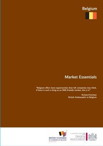 market essentials - belgium