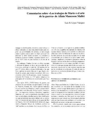 Los trabajos de Marte o el arte de la guerra» de Allain Manesson ...