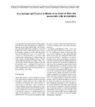 II contributo dell'École d'Artillerie et du Génie di Metz alla teoria della ...